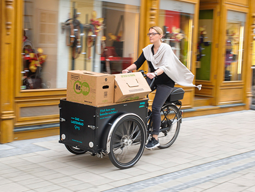 2beb2797d3f CARGO BIKES & LOW-IMPACT VANS FOR INNOVATIVE URBAN LOGISTICS | SIMPLA